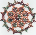 Chicken wing doily
