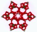 Snowflake ring 2