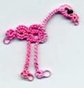 Flamingo ostrich