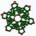 Snowflake 3 ring