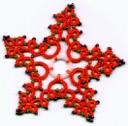 Snowflake 4 ring